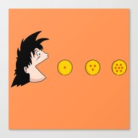 goku Canvas Prints featuring Goku by Pac-Mods