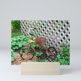 Rusted Tricycle Mini Art Print