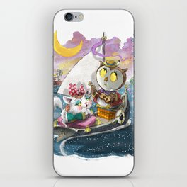 Owl and the Pussycat iPhone Skin