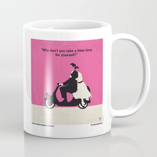 No205 My Roman Holiday minimal movie poster Mug