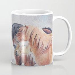 Three Musketeers Shetland Ponies Coffee Mug