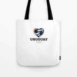 Uruguay Soccer Shirt 2016 Tote Bag