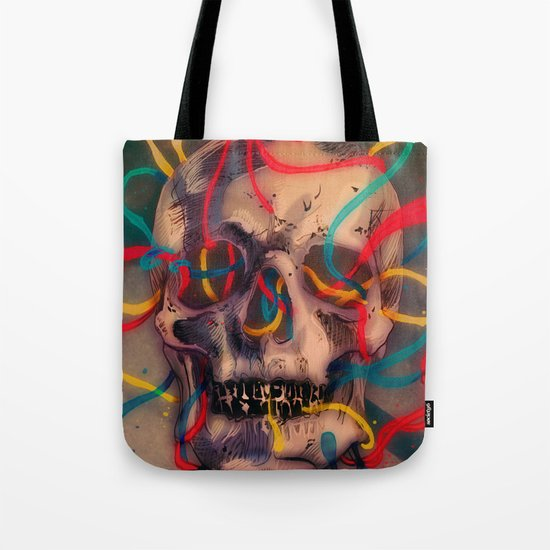 '' sad music plays '' Tote Bag