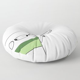 This is my stabbin' knife Floor Pillow
