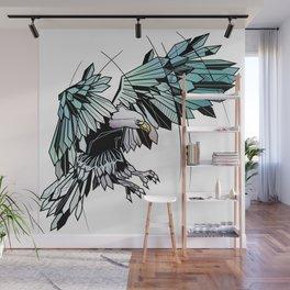 Geometric eagle Wall Mural