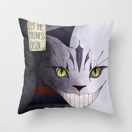 Madness Throw Pillow