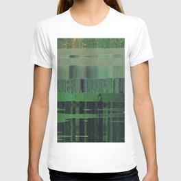 green scan T-shirt