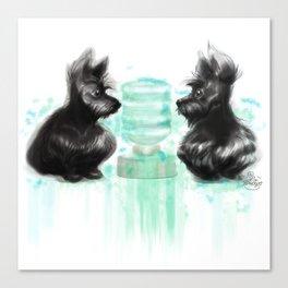 Watercooler I Canvas Print