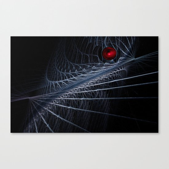 Wired Force Canvas Print