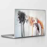 the cure Laptop & iPad Skins featuring infect me,cure me. by SereArt