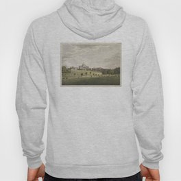 Vintage Illustration of The Boston Commons (1829) Hoody