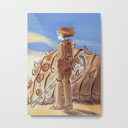 Nausicaa Of The Valley Of The Wind Metal Print