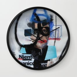 no panic Wall Clock