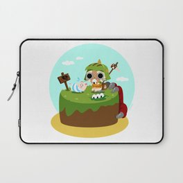 Monster Hunter - Felyne and Poogie Laptop Sleeve