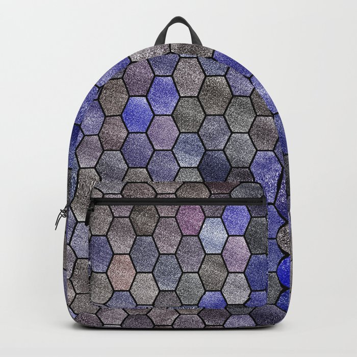 Glitter Tiles VII Backpack