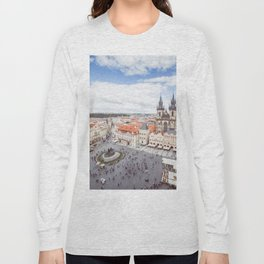 Old Town Square in Prague Long Sleeve T-shirt
