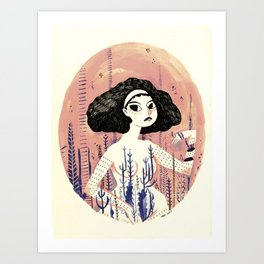 From me too Art Print