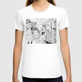 L train - to Lorimer T-shirt