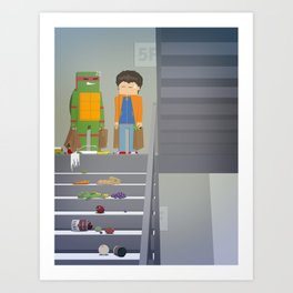The Nick Yorkers in October Art Print