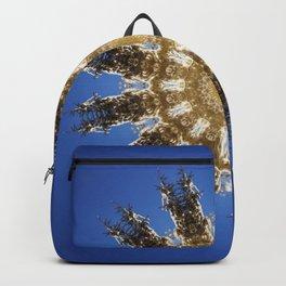 mandala with Christmas trees Backpack