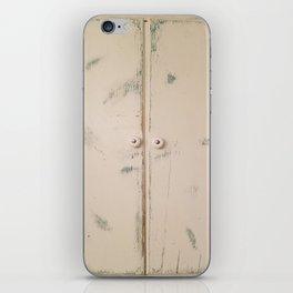 Shabby Chic, Cabinet Doors, Doors iPhone Skin