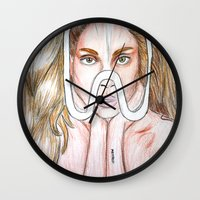 artpop Wall Clocks featuring ARTPOP by  Can Encin
