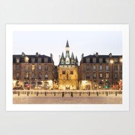 Bordeaux Palais de la Bourse Art Print