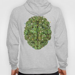 Circuit brain Hoody