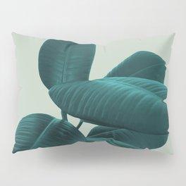 Ficus Elastica #8 #GreenLily #decor #art #society6 Pillow Sham