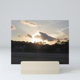 Sun and Clouds Mini Art Print