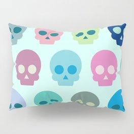 Colorful Skull Cute Pattern Pillow Sham