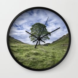 Return to Sycamore Gap Wall Clock