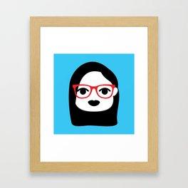 Grumpy Catarina Framed Art Print