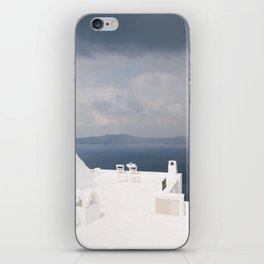 Santorini beautiful view iPhone Skin