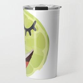 my first lemon Travel Mug