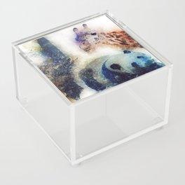 Animals Painting Acrylic Box