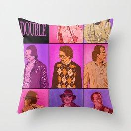 Body Double Throw Pillow