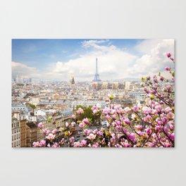 Paris 02 - World Big City Canvas Print