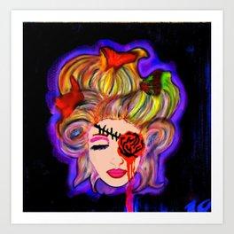 Hairwebs Art Print