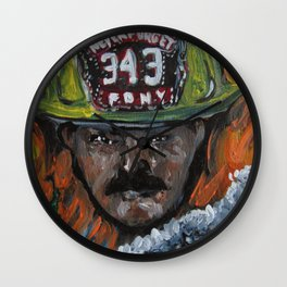Never Forget 911 Wall Clock