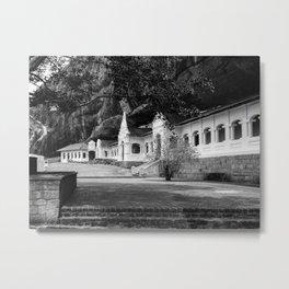 The Royal Rock Temple complex location Dambulla Metal Print
