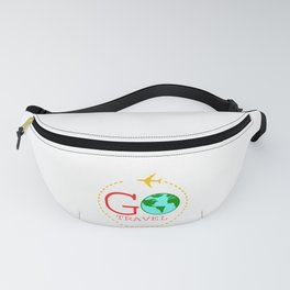 Go Travel! Traveler? A Nice Traveling Design that'll be a Perfect t-shirt for Exploring Explore Fanny Pack