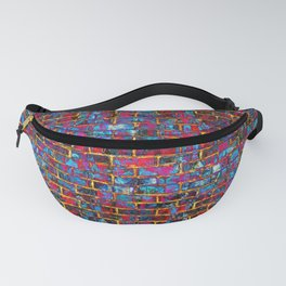 Grunge Wall One Fanny Pack