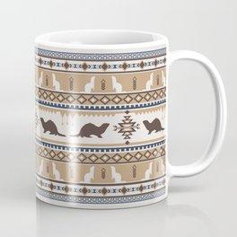 Boho Animals | Ferret tan Coffee Mug