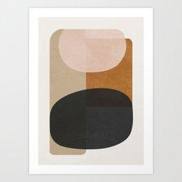 abstract minimal 59 Art Print