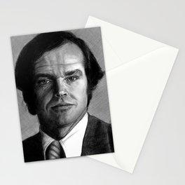 Jack Nicholson Portrait Stationery Cards