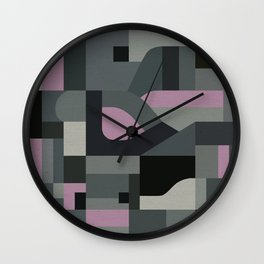 Langley Tex Wall Clock