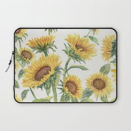 Blooming Sunflowers Laptop Sleeve