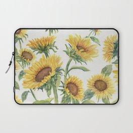 Blooming Sunflowers Laptop Sleeve