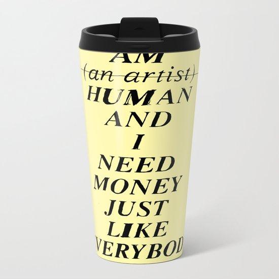 SICK. Metal Travel Mug